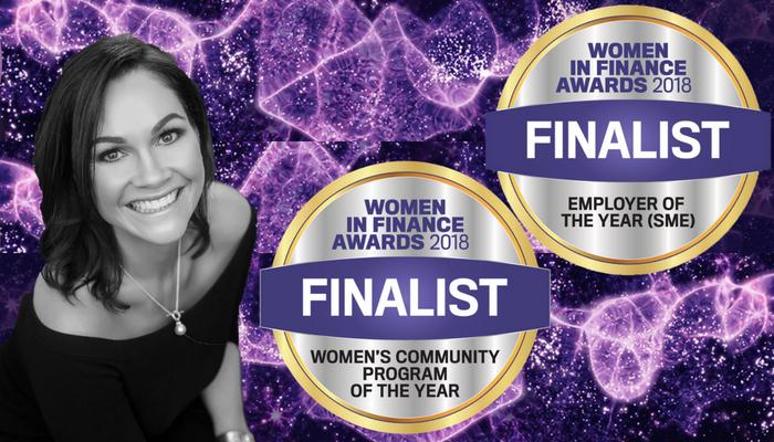 Finalists in the Women in Finance Awards 2018.